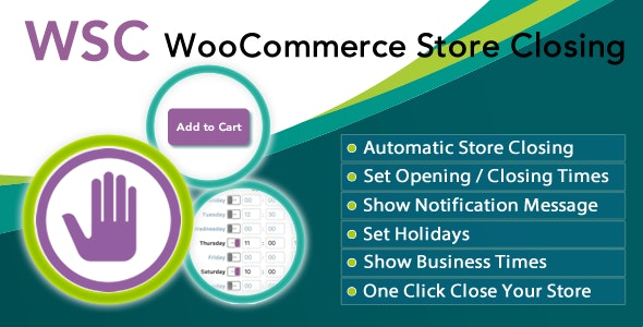 Woocommerce Store Closing by Ozibal   CodeCanyon