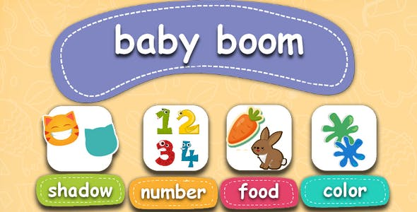 Baby boom-educational children's game