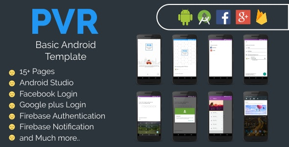 PVR Basic Android Template - CodeCanyon Item for Sale