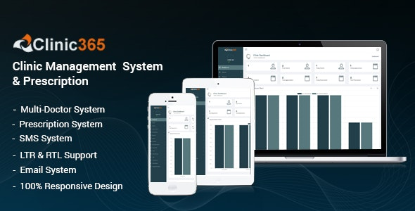 Clinic365 - Clinic Management System - CodeCanyon Item for Sale
