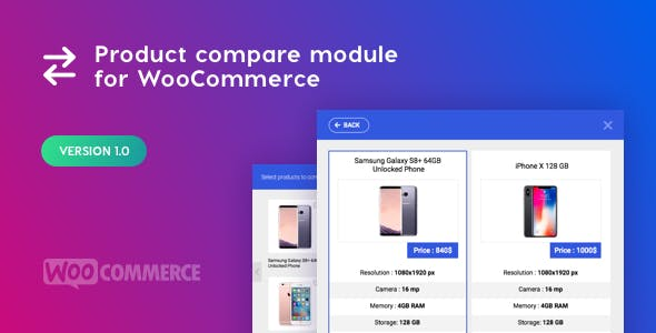 Product Compare Module for WooCommerce
