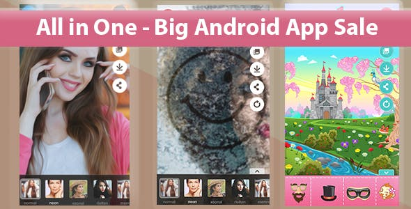 All in One - Big Android App Sale