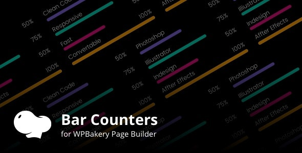 Bar Counters Addons for WPBakery Page Builder Wordpress Plugin - CodeCanyon Item for Sale