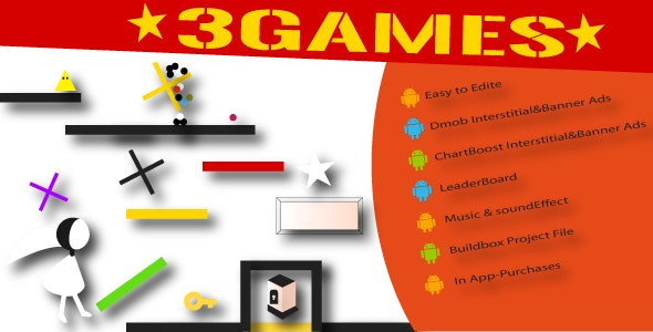 3 Games - CodeCanyon Item for Sale