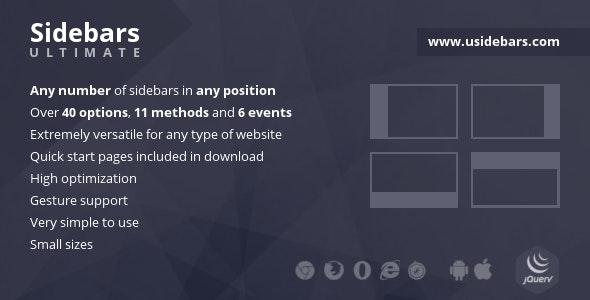 Sidebars Ultimate - CodeCanyon Item for Sale