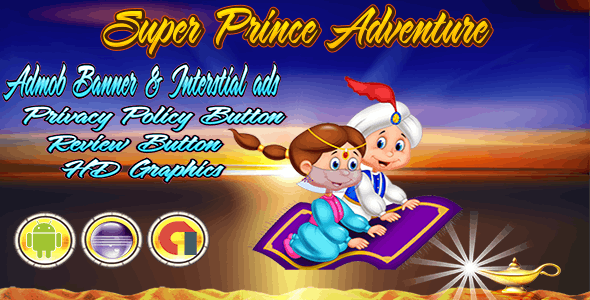 Super Prince Adventure - Admob Banner & Interstitial- Eclipse Project