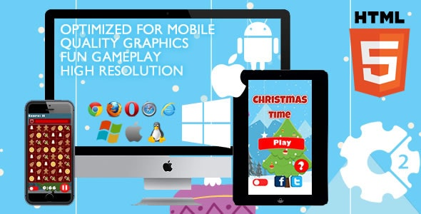 Christmas Time - HTML5 Game (Capx) - CodeCanyon Item for Sale