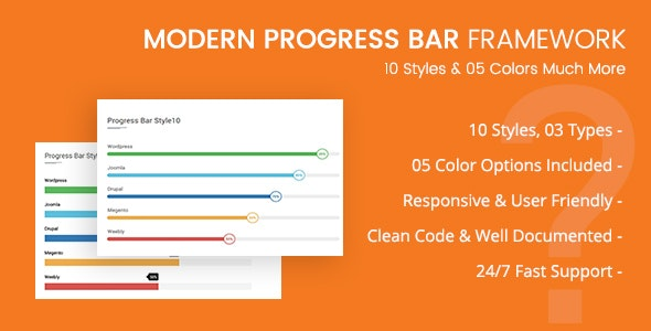 CSS3 Progressbar Framework - CodeCanyon Item for Sale