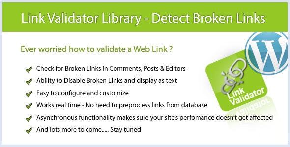 WP Link Validator - Detect Broken Links - CodeCanyon Item for Sale