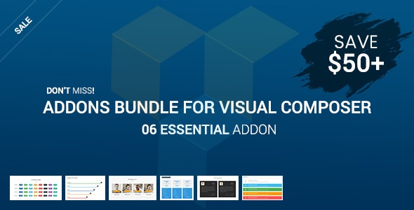 Essential Addons Bundle For Visual Composer - CodeCanyon Item for Sale