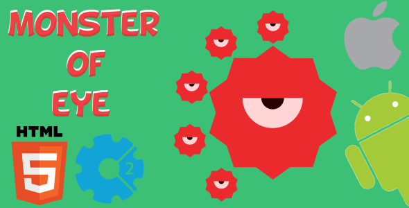 Monster Of Eye - HTML5 Game