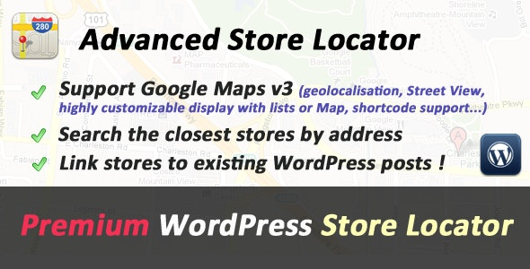 Advanced Store Locator for WordPress - CodeCanyon Item for Sale