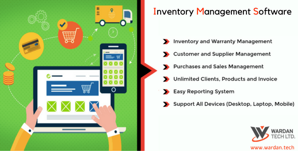 Inventory Management Software - CodeCanyon Item for Sale
