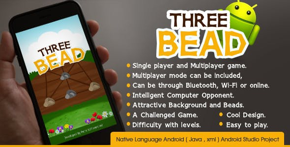 Three Bead Game with Ad mob Integrated