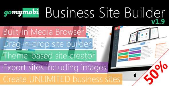 gomymobiBSB: Drag-n-Drop Business Webite Builder and Host Platform - Business License
