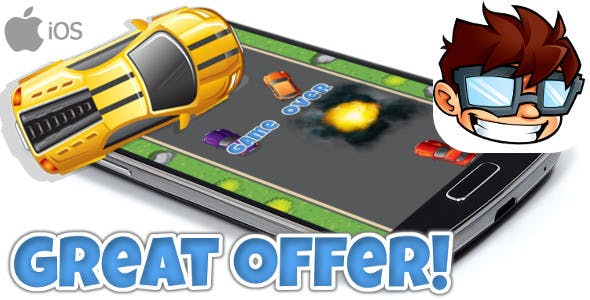 Turbo Highway Racer iOS & Android universal! Ads & IAP included!