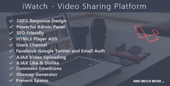 iWatch - Video Sharing Platform