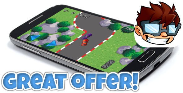 Mini Car Racing iOS & Android universal! Ads & IAP included!