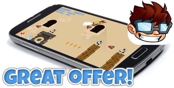 Jetpack game iOS & Android universal! Ads & IAP included!