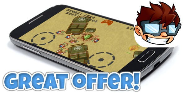 Zombie Shooter Android & iOS universal! Ads included! - CodeCanyon Item for Sale