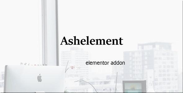 AshElement-Elementor Page Builder Bundle - CodeCanyon Item for Sale
