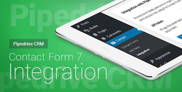 Contact Form 7 - Pipedrive CRM - Integration