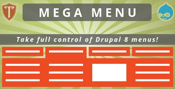 Mega Menu for Drupal 8