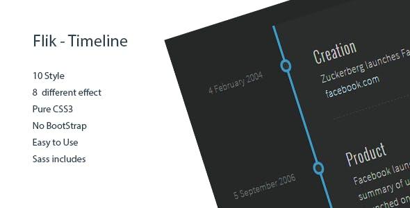 Flik - Timeline 10 Style with Generator