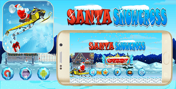 Santa Snowcross With Admob Banner & Interstitial - Eclipse Project