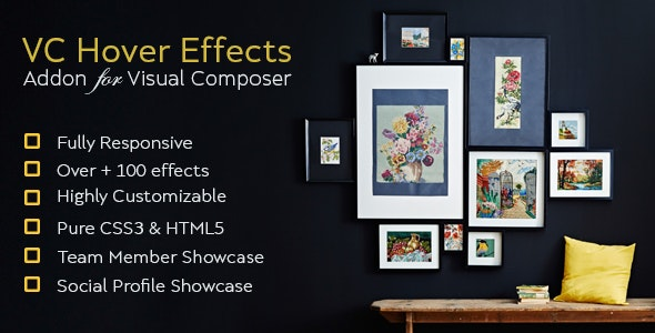 Image Hover Effect Addon For Visual Composer - CodeCanyon Item for Sale