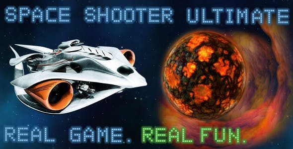 Space Shooter 25 missions! iOS & Android universal! Ads & IAP included!