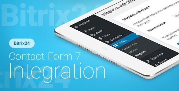 Contact Form 7 (Kontaktformular 7) - Bitrix24 CRM - Integration Plugin