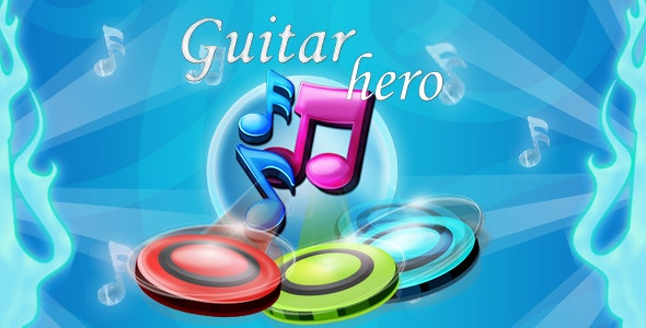 Guitar hero - be a rock star, Facebook instant  Audience Network - CodeCanyon Item for Sale