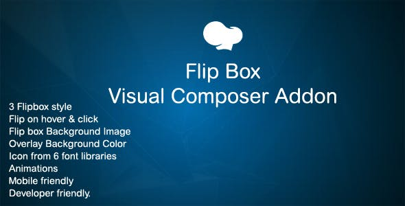 Flip Box addon for WPBakery Page Builder (Visual Composer)