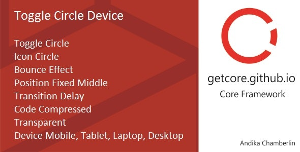 Toggle Circle Device - CodeCanyon Item for Sale