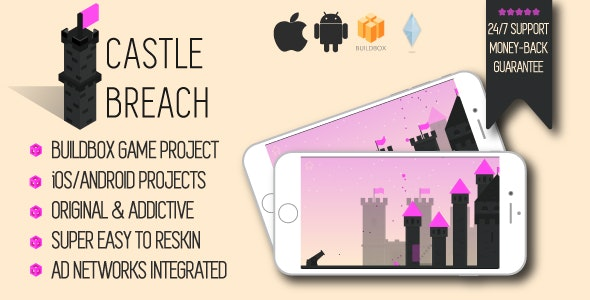 Castle Breach: iOS/Android/Buildbox Game Template