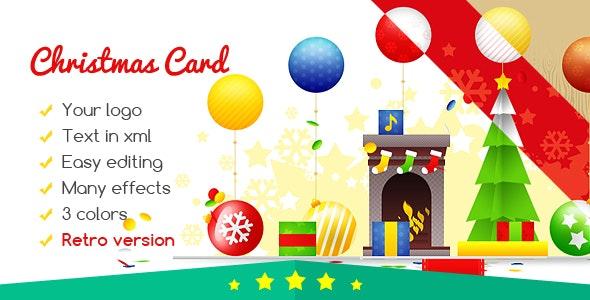 Christmas Card Gift Box - CodeCanyon Item for Sale