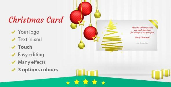 Christmas Card Elegant - CodeCanyon Item for Sale