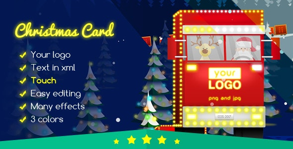 Christmas Card Delivery of Gifts - CodeCanyon Item for Sale