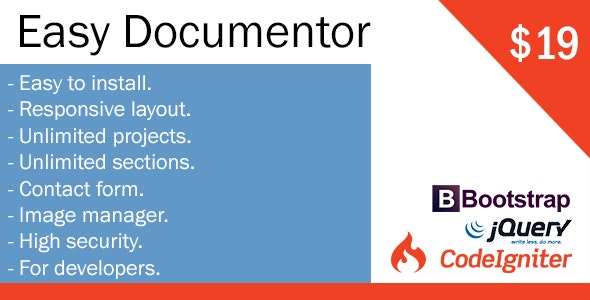 Easy Documentor - CMS - CodeCanyon Item for Sale