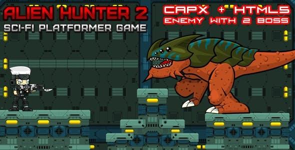 Alien Hunter 2 (Platformer)