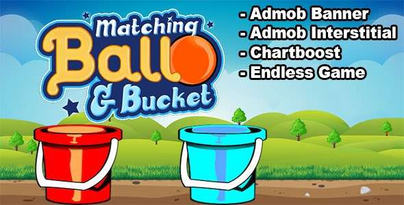 Matching Ball & Bucket - New Concept Of Matching Game! - CodeCanyon Item for Sale