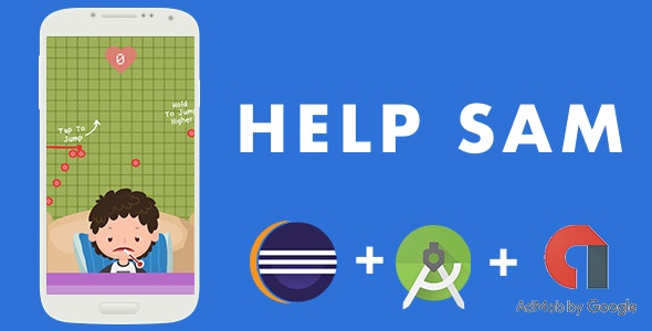 HELP SAM - ANDROID STUDIO & ECLIPSE + PNG + ADMOB - CodeCanyon Item for Sale