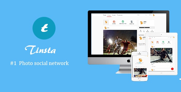 Tinsta - A Photo Sharing Social Networking Platform - CodeCanyon Item for Sale