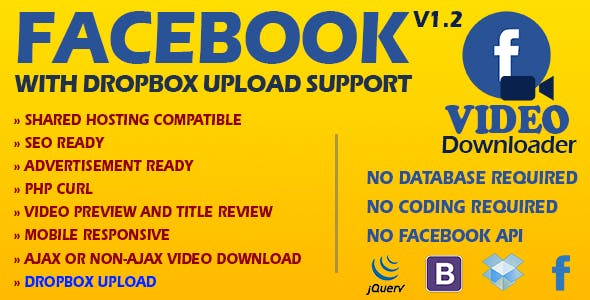 OraFB - Facebook Video Download (Ajax or Non-Ajax)