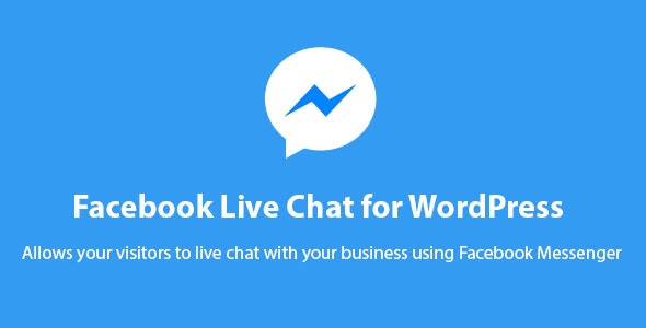 Facebook Messenger Live Chat for WordPress - CodeCanyon Item for Sale