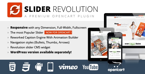 Slider Revolution Responsive Opencart Module - CodeCanyon Item for Sale