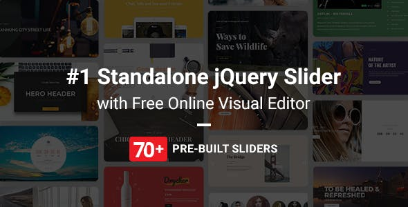 Master Slider jQuery Slider Plugin with Visual Builder
