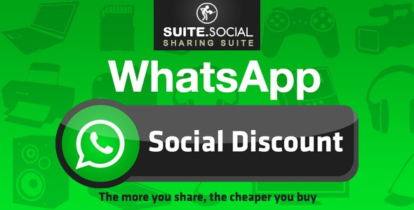 Social Sharer - WhatsApp Social Pay (Discount) - CodeCanyon Item for Sale