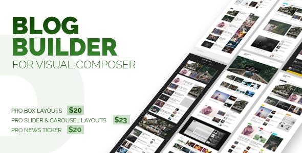 Blog Builder For WPBalery Page Builder (Visual Composer)
